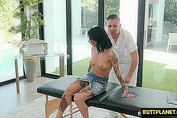 Asian cowgirl and massage...