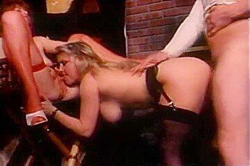 Retro threesome with porn director...