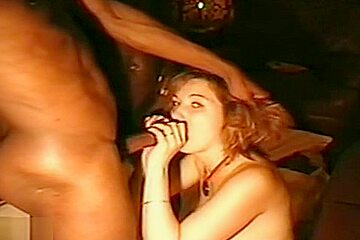 Sexy french wife enjoys sucking two dicks cuckold...