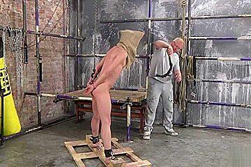 Punished hard emptied of cum...