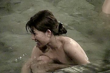 Smiling asian the pool video nri104 00...