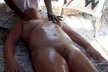 Dilettante massage africa puffy cum hole three...