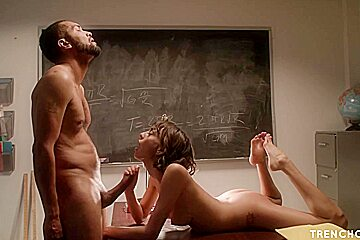 Slim small titted student janice griffith...