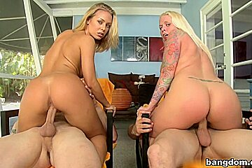 Big ass blondes with feat angel...