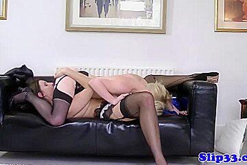 Enjoying cock...