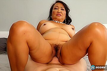 Mandy thai is fucking much younger guys and...