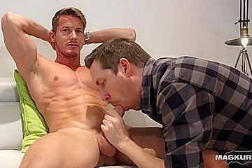 Married man is addicted to cock sucking and...