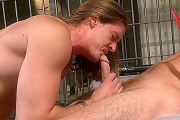 Bondage pumped up tightest bondage nailing...