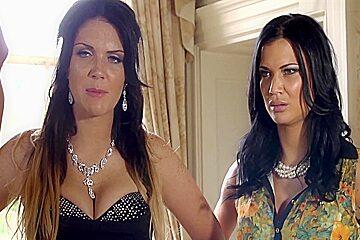 Busty emma jasmine humiliate the clerk...