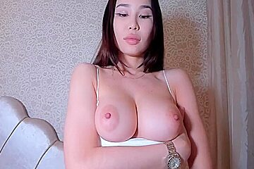 Only big asian chick...