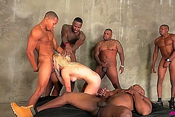 And rico strong in in hard interracial butt...