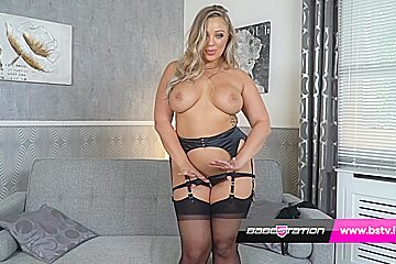 Buxon star beth showing you that big booty...