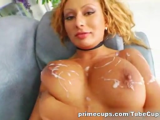Exotic Sabrina comes with a set of natural big tits.