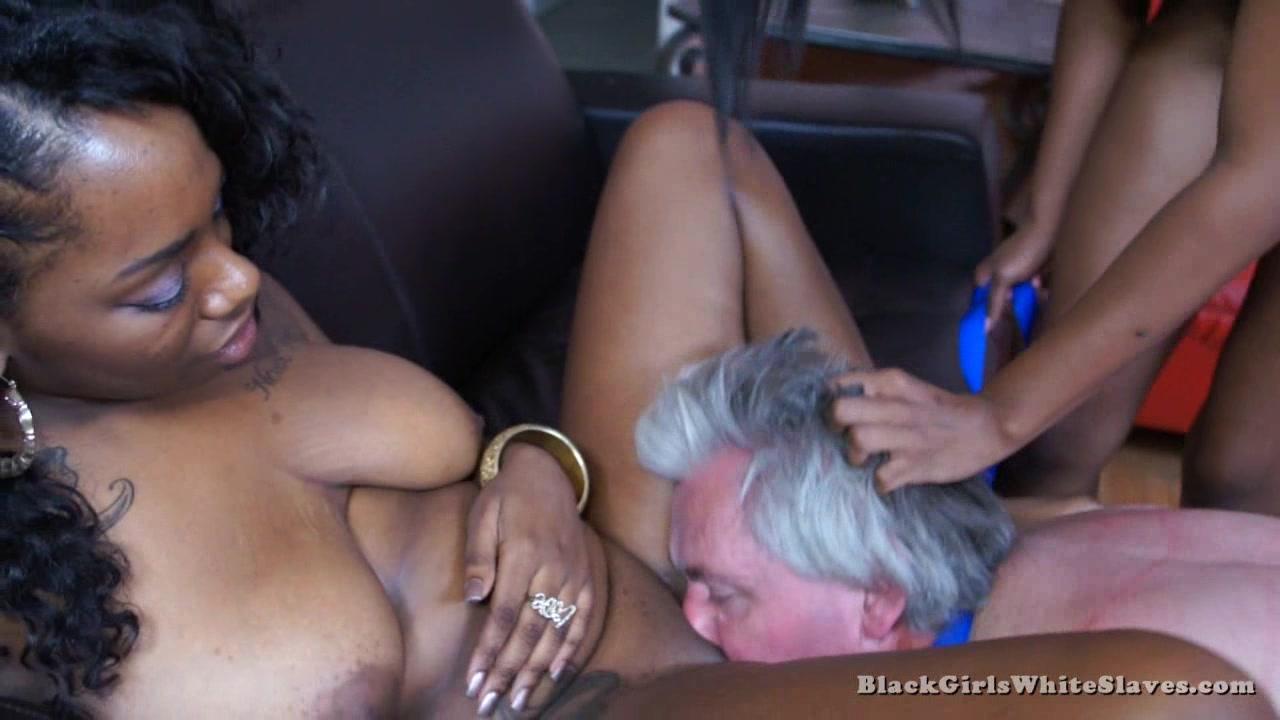 Eating Black Teen Pussy