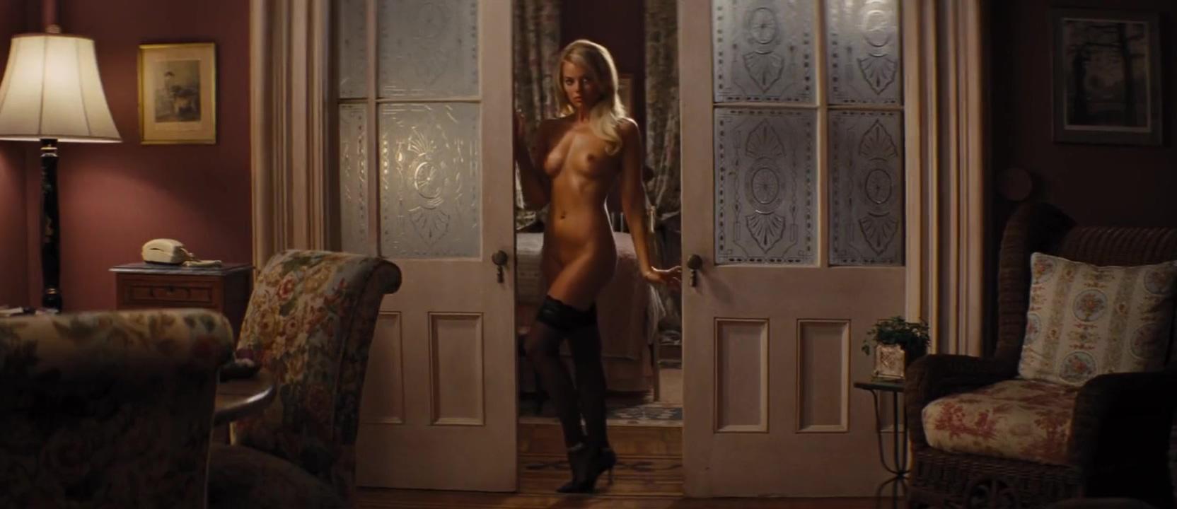Margot Robbie Wolf of Wall Street best naked fucking nude loop Harley Quinn
