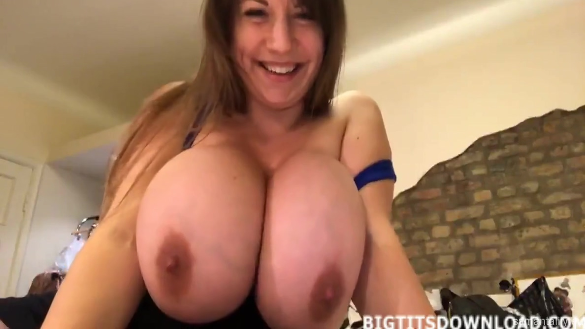 Samanta Lily In 161.busty Beauty From Russia With Huge Boobs