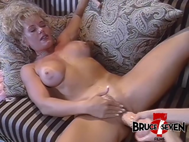 Bruce Seven - Blonde Hotties And The Biggest Dildoes - Johnni Black And Shelby Stevens