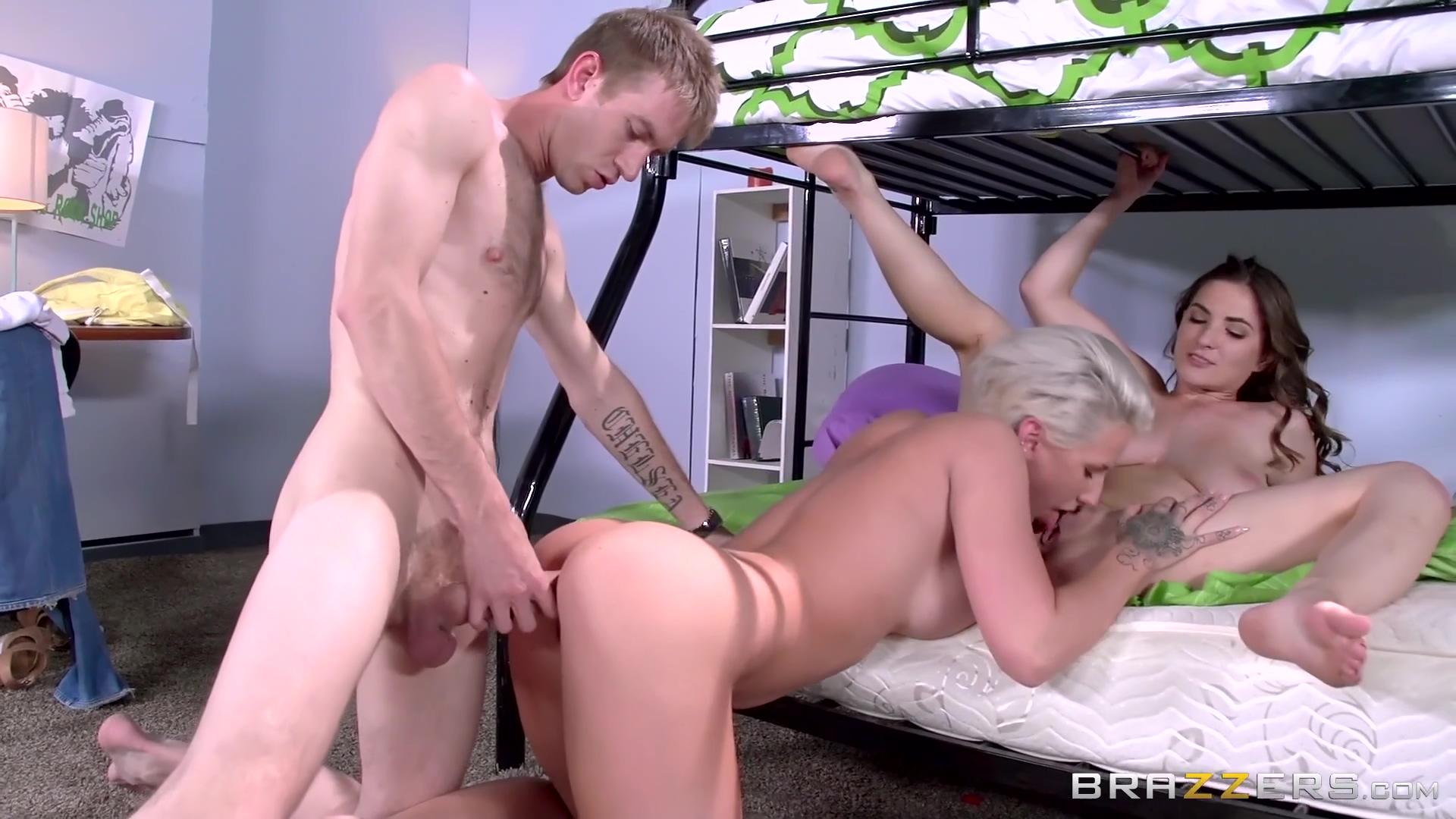 Molly Jane, Dylan Phoenix - Big Tits On The Bottom Bunk